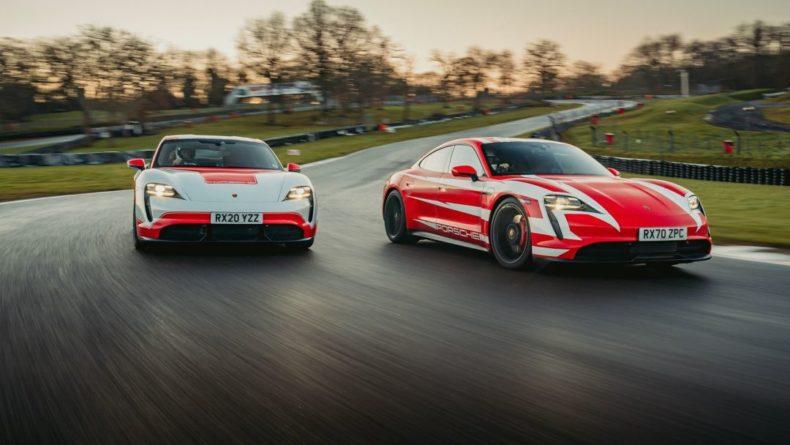Общество: Электромобили Porsche Taycan 4S/Turbo S установили 13 рекордов Великобритании во время заезда на 1000 км [видео]