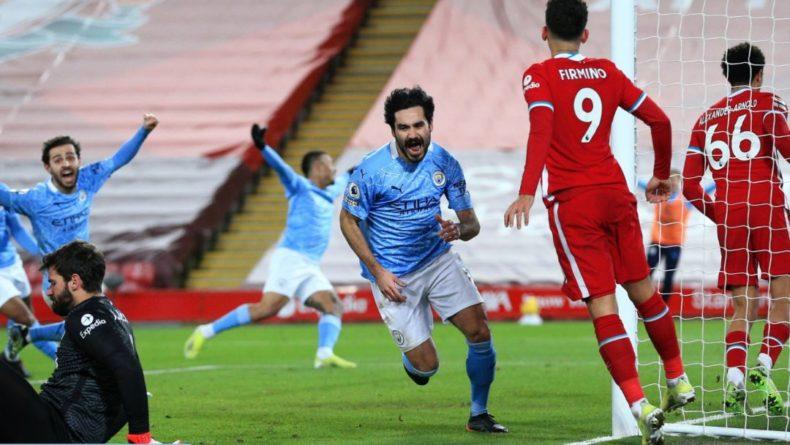 Общество: МанСити разгромил на выезде Ливерпуль: вратарь Аллисон дважды допустил грубые ошибки