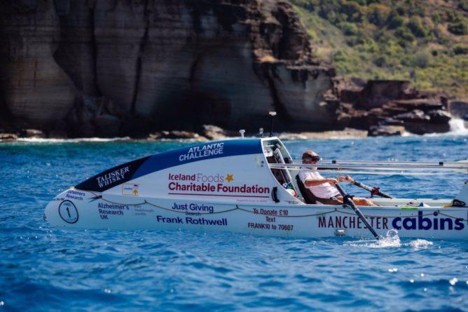 Общество: Британец побил мировой рекорд, самостоятельно пересекши Атлантический океан для сбора пожертвований