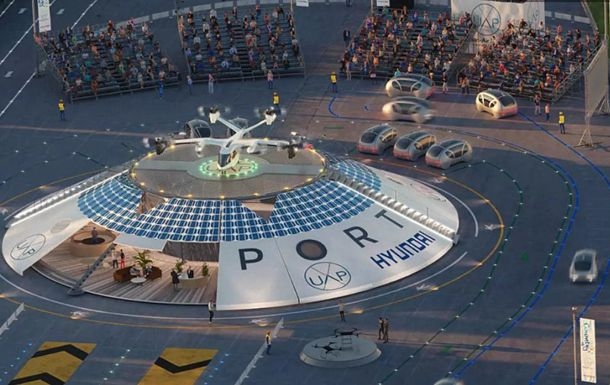 Общество: В Англии построят аэропорт для аэротакси и дронов