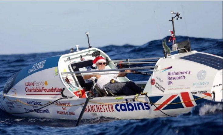 Общество: 70-летний британец самостоятельно пересек Атлантический океан на лодке