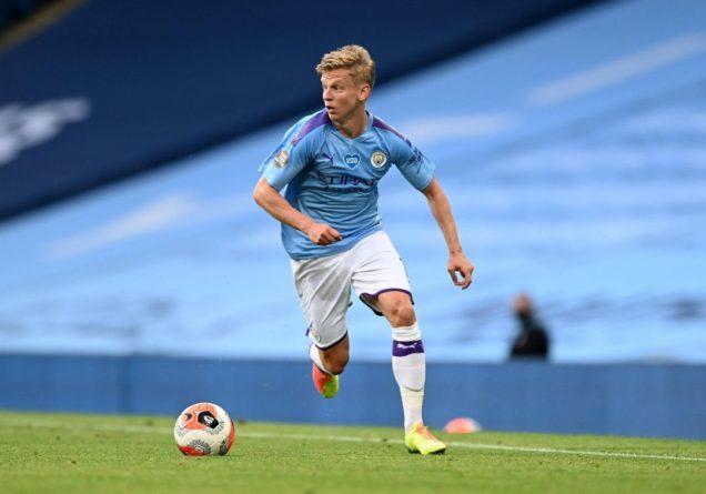 Общество: Зинченко лучший игрок в истории Манчестер Сити за интересным показателем