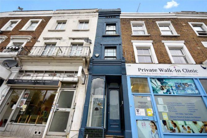 Общество: Самый узкий дом Лондона выставили на продажу