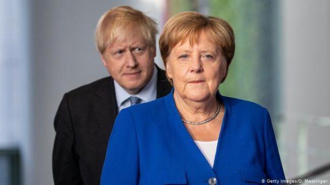 Общество: Меркель и Джонсон обсудили пандемию и Навального