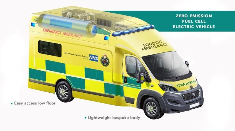 Общество: В Британии разрабатывают машину скорой помощи на водороде