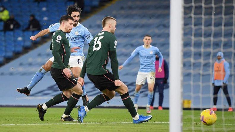Общество: «Манчестер Сити» обыграл «Тоттенхэм» в матче чемпионата Англии по футболу