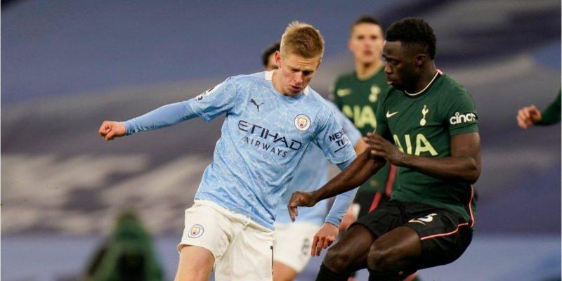 Общество: Манчестер Сити с Зинченко в составе разгромил Тоттенхэм и закрепился на первом месте английской Премьер-лиги — видео