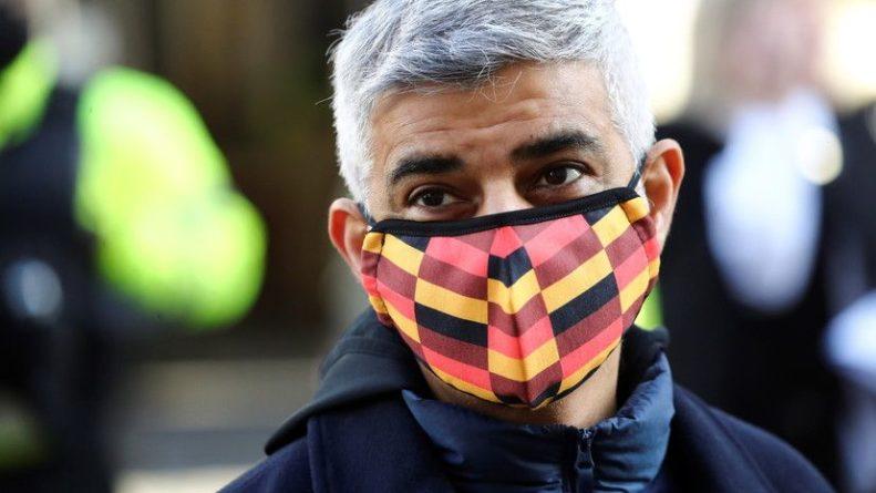 Общество: Мэр Лондона сделал прививку от коронавируса