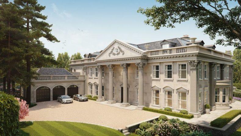 Общество: Эстетика и величие Великобритании: в графстве Суррей продается шикарный особняк