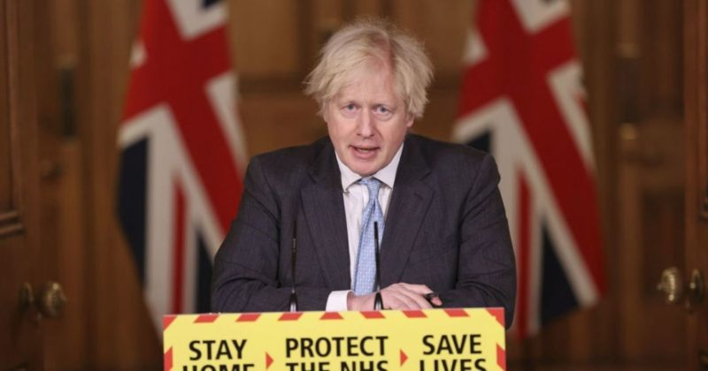 """Общество: """"Конец уже очень близко"""": премьер Великобритании представил поэтапный план выхода Англии из локдауна"""