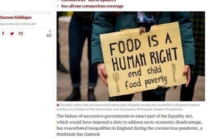 Общество: В Британии бьют тревогу из-за растущего неравенства между гражданами