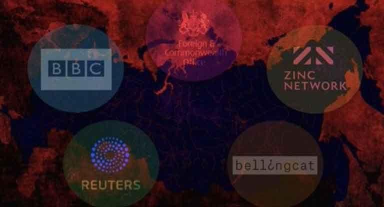 Общество: Ведущие СМИ Reuters, BBC, Bellingcat связаны с спецслужбами Великобритании
