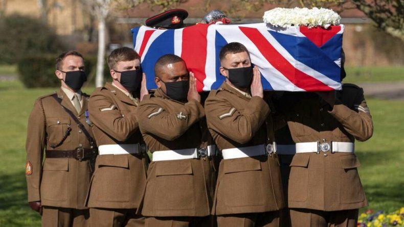 Общество: Британцы простились с героем