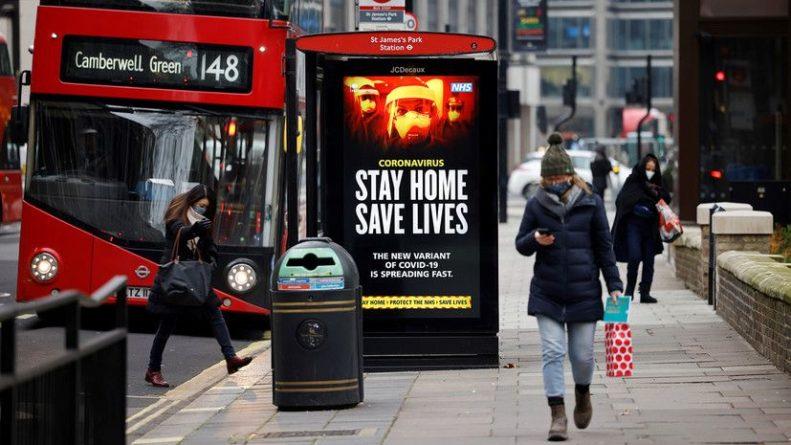 Общество: В Британии за сутки выявили менее 8 тысяч новых заболевших COVID-19