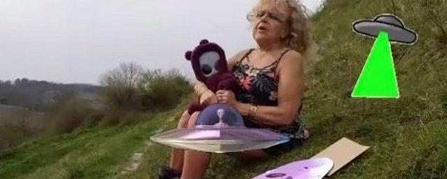 Общество: Старушка в Англии заявила о рождении инопланетянина после похищения НЛО