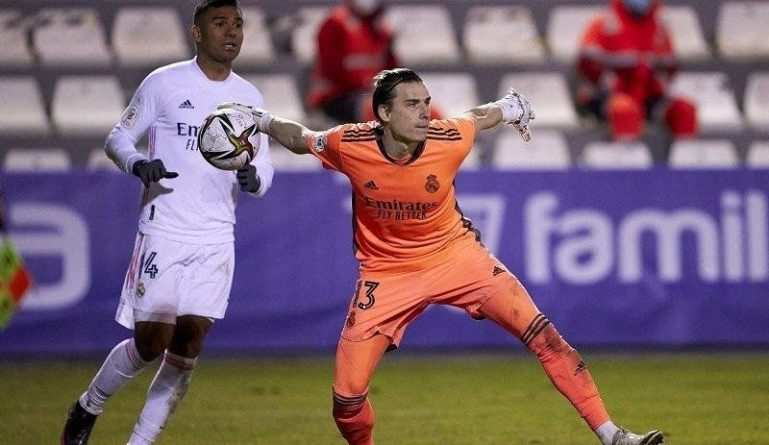 Общество: Лунин попал в список игроков Реала на матч против Ливерпуля