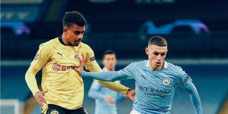 Общество: Манчестер Сити на последних минутах вырвал победу над Боруссией Дортмунд в первом матче ¼ финала Лиги чемпионов — видео