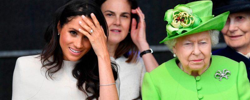 Общество: Королева Британии не запрещала Меган Маркл сниматься в кино