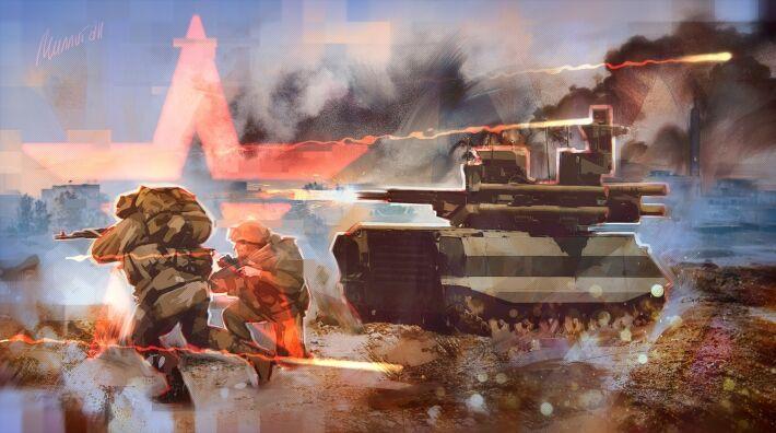 """Общество: Жители Великобритании оценили российские боевые роботы """"Уран-9"""""""