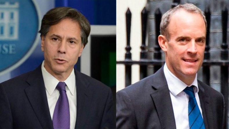 Общество: США и Британия обещают Украине поддержку во время провокаций России