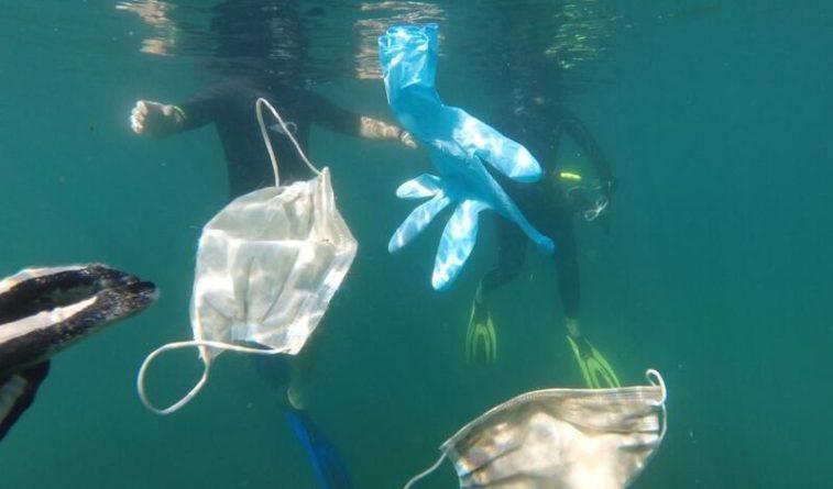Общество: Британцы начали превращать одноразовые маски в перерабатываемый пластик