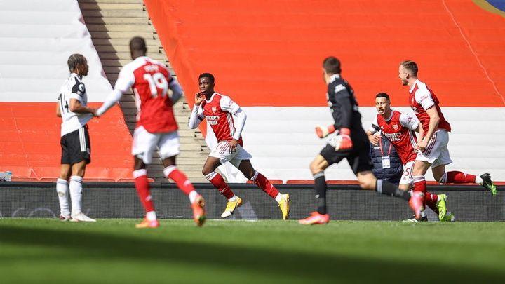 """Общество: """"Арсенал"""" вырвал ничью в дерби с """"Фулхэмом"""", забив на 97-й минуте"""