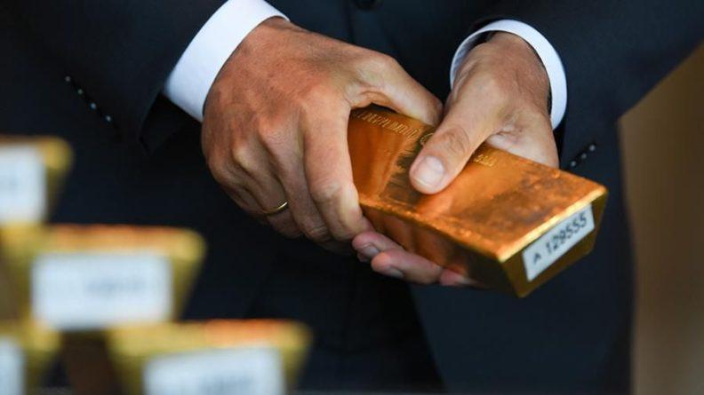 Общество: Экспорт российского золота в Великобританию вырос на 83%