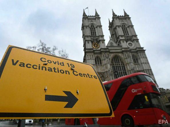 Общество: В Великобритании вторую дозу вакцины против коронавируса получило более 10 млн человек