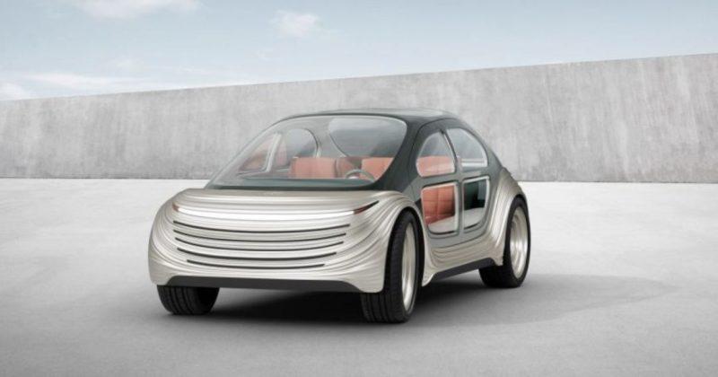Общество: В Лондоне спроектировали электромобиль, который всасывает выхлопные газы других машин