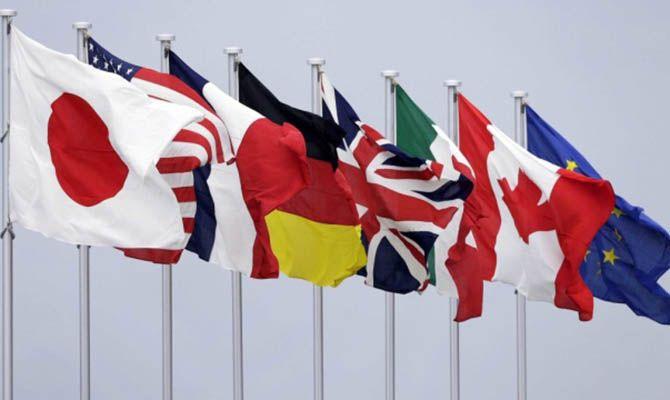 Общество: В Лондоне состоится первая за два года очная встреча глав МИД стран G7