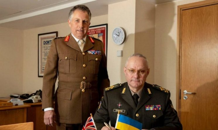 Общество: Украина и Великобритания расширяют военное сотрудничество