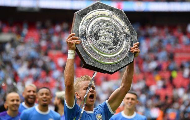 Общество: Зинченко выиграл восьмой трофей в составе Манчестер Сити