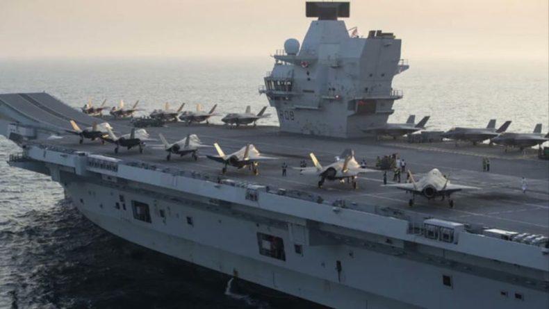 Общество: Зайдут в Черное море: крупнейшая авианосная группа ВМС Великобритании отправляется в поход