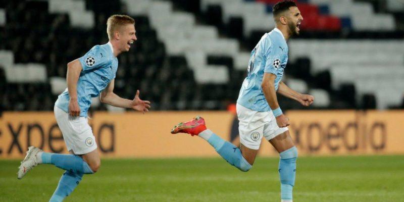 Общество: Зинченко помог Манчестер Сити победить ПСЖ в первом матче полуфинала Лиги чемпионов