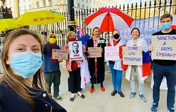 Общество: В Лондоне поддержали свободную Беларусь