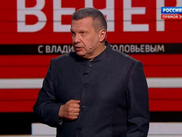 Общество: Российский пропагандист Соловьев заявил, что британцы должны молиться на Путина