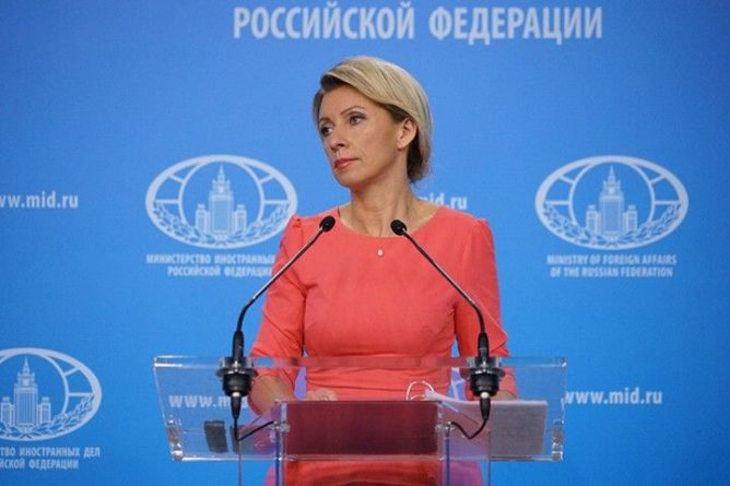 Общество: Захарова ответила словами святого Антония на заявление Британии о «пропаганде России»