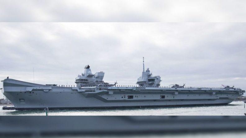 Общество: Daily Express: Россия впервые за 40 лет перехватила флагманский авианосец ВМС Британии