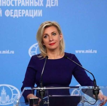 Общество: Захарова ответила на призыв главы МИД Великобритании бороться с фейками из РФ цитатой святого Антония