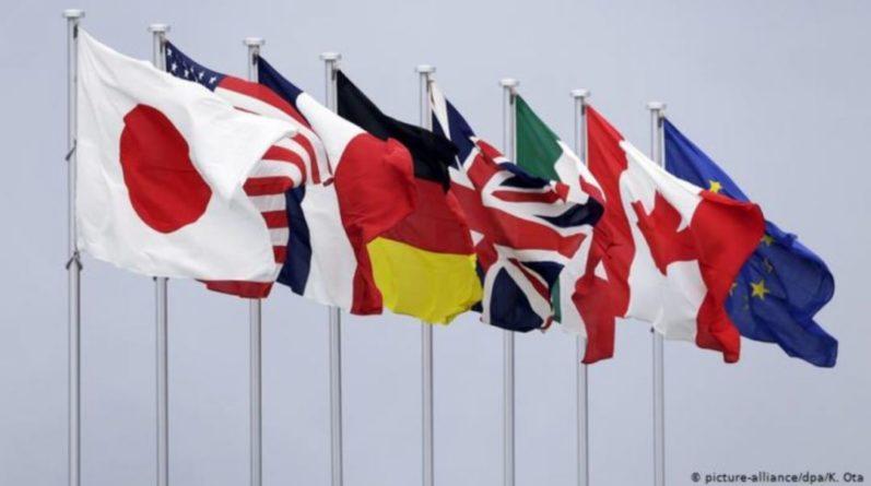 Общество: В Лондоне проходит первая личная встреча министров G7 от начала пандемии