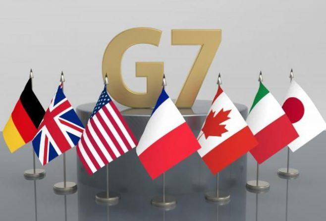 Общество: В Лондоне проходит первая реальная встреча министров G7 со времени начала пандемии