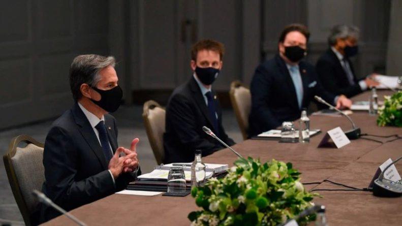 Общество: Блинкен проводит в Лондоне переговоры с коллегами из стран «Большой семерки»