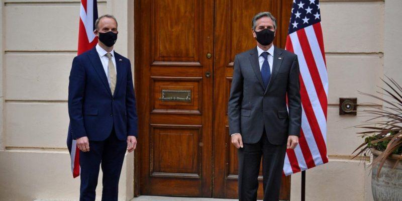 Общество: США и Британия заявили о совместном противодействии агрессии РФ против Украины