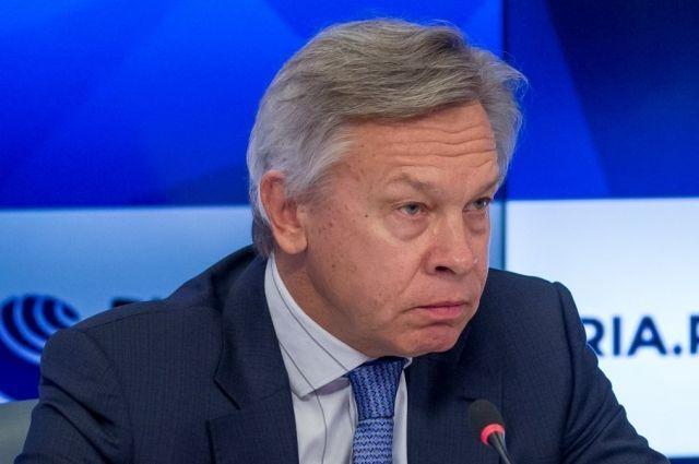 Общество: Пушков отреагировал на заявление главы МИД Великобритании о России