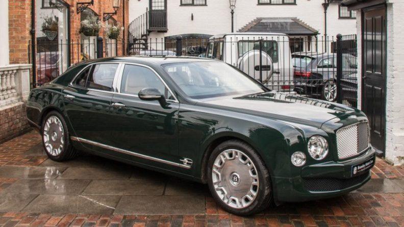 Общество: В Великобритании продается Bentley, на котором ездила Елизавета II