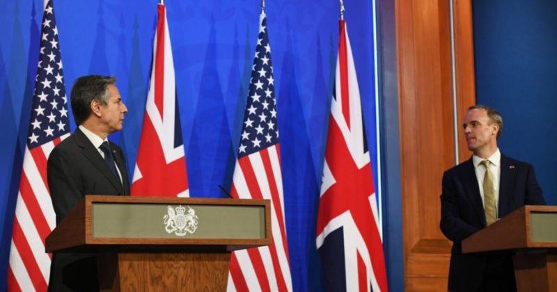 Общество: США и Великобритания сделали совместное заявление по противодействию агрессии России