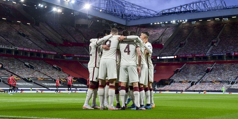 Общество: Рома Манчестер Юнайтед - прогноз букмекеров - ставки на ответный матч 1/2 финала Лиги Европы 06.05.2021 - ТЕЛЕГРАФ
