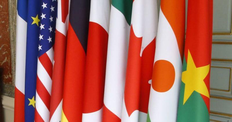 Общество: Впервые с начала пандемии Великобритания приняла министров G7