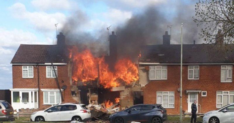 Общество: Взрывом в доме Великобритании ранило семь человек