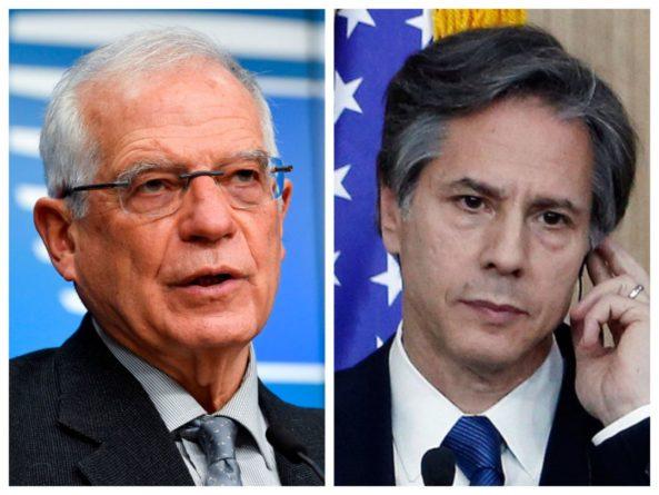 Общество: Блинкен и Боррель на переговорах в Лондоне обсудили российскую агрессию в отношении Украины